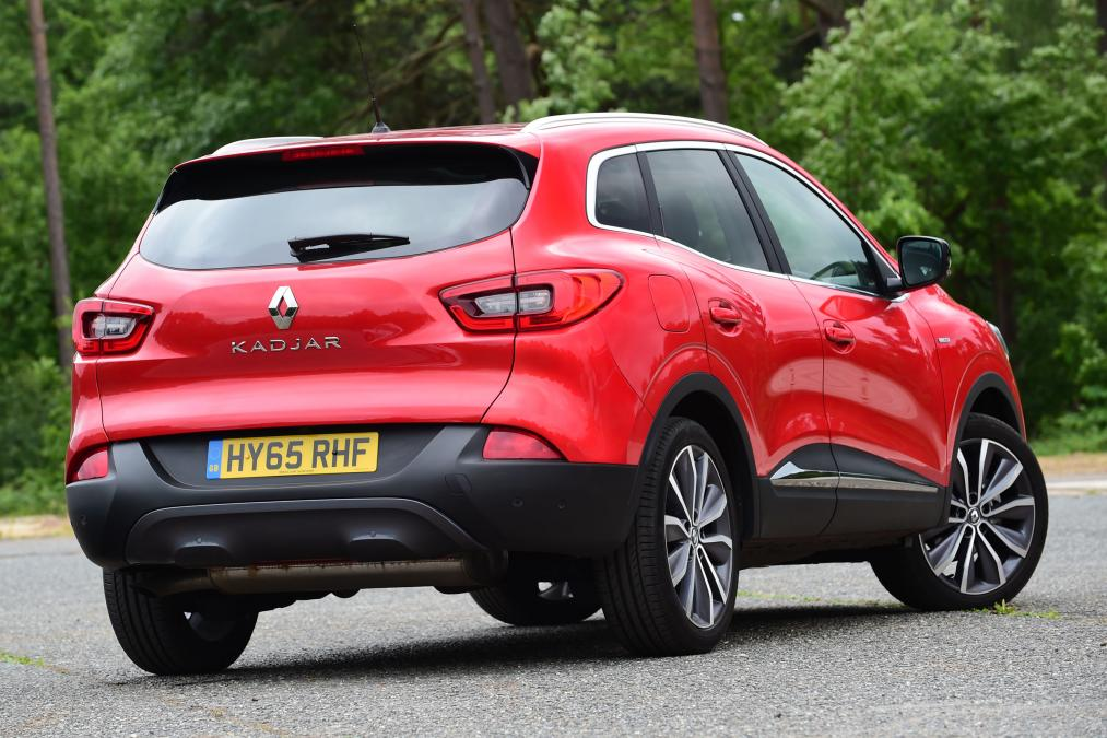 New Renault Kadjar Rear Bumper With Parking Sensor Holes